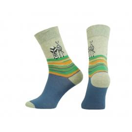 Funny Socks FS671-114  zebra